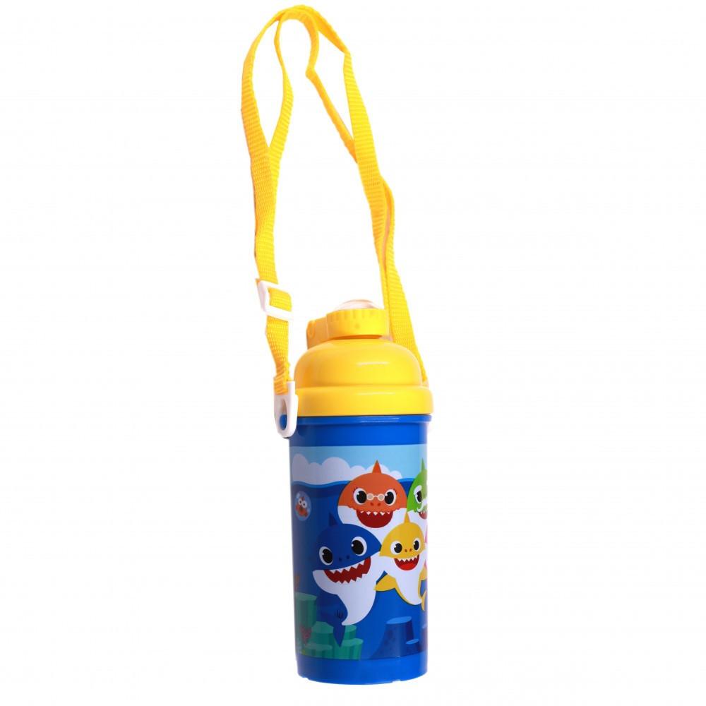 بيبي شارك- زمزمية بلاستيك - Baby Shark Plastic Water Bottle