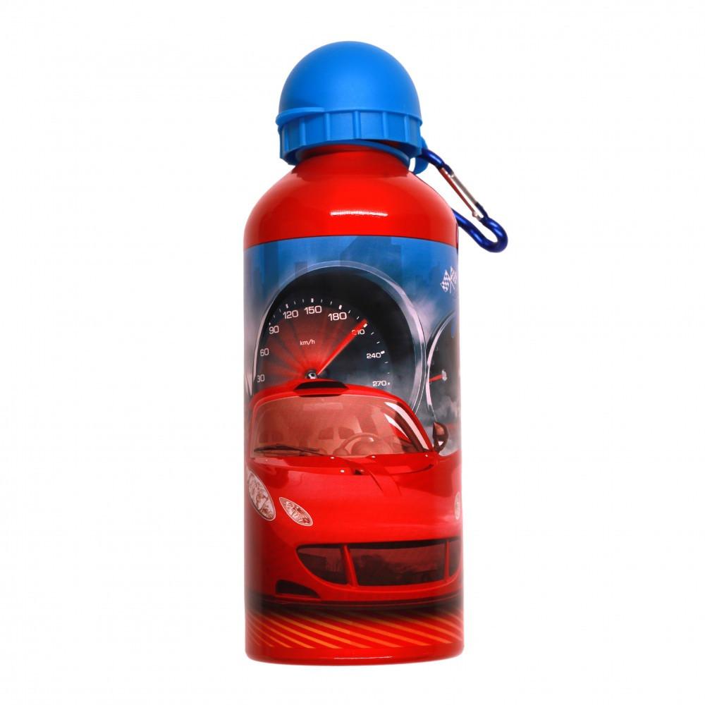 فايركار- زمزمية الومنيوم 600 مل - Fire Car Aluminium Water Bottle 600