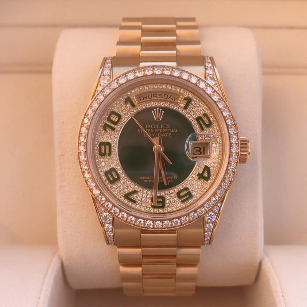 ساعة رولكس داي ديت الأصلية الثمينة 118388