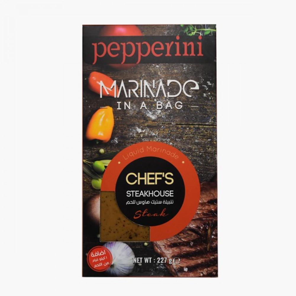 ببريني تتبيلة الستيك هاوس للحم Pepperini Chef s Steakhouse Marinade