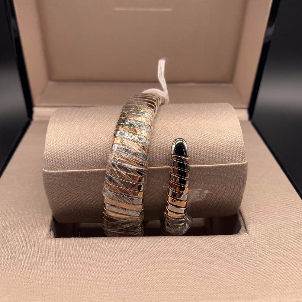 ساعة بولغري الثعبان سنيك الأصلية الثمينة جديدة