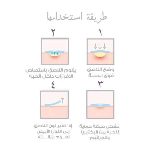 لصقات لعلاج حب الشباب SOME BY MI التخلص من حبوب الشباب البشرة الدهنية