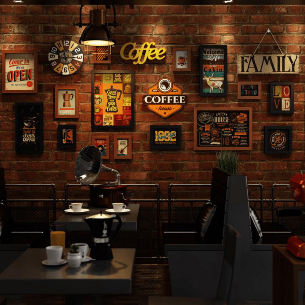 لوحات جدارية قهوة