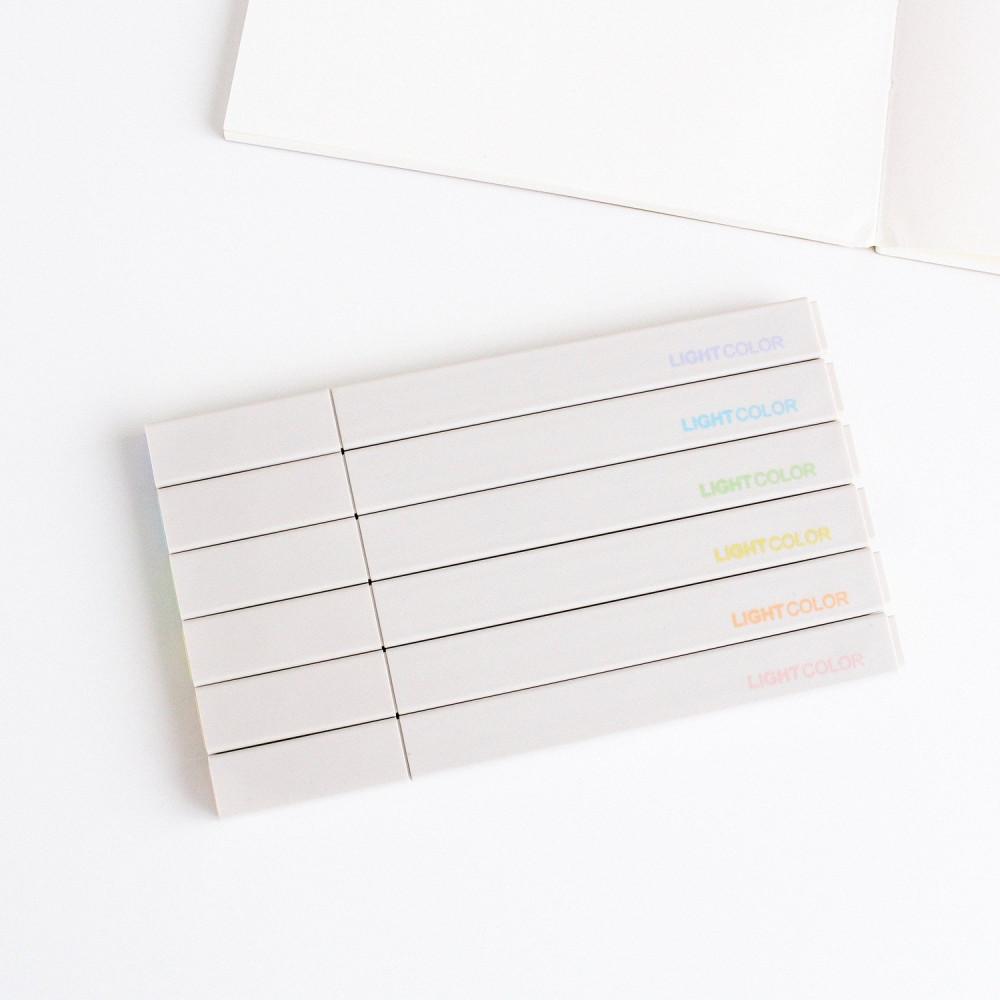 أقلام هايلايتر ملونة أقلام التظهير الماركر المستلزمات المكتبية قرطاسية