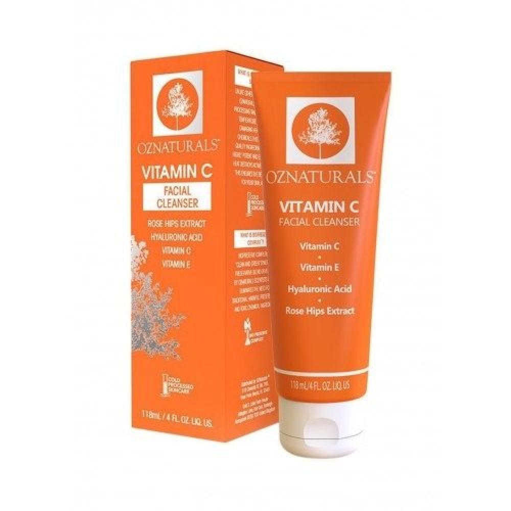 Oznaturals Vitamin C Facial Cleanser 118ml متجر خبير العطور
