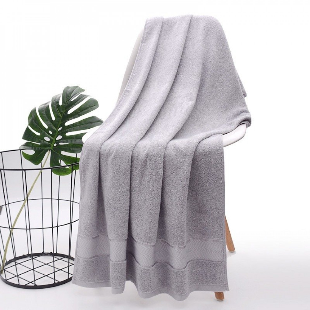 منشفة رمادي فاتح