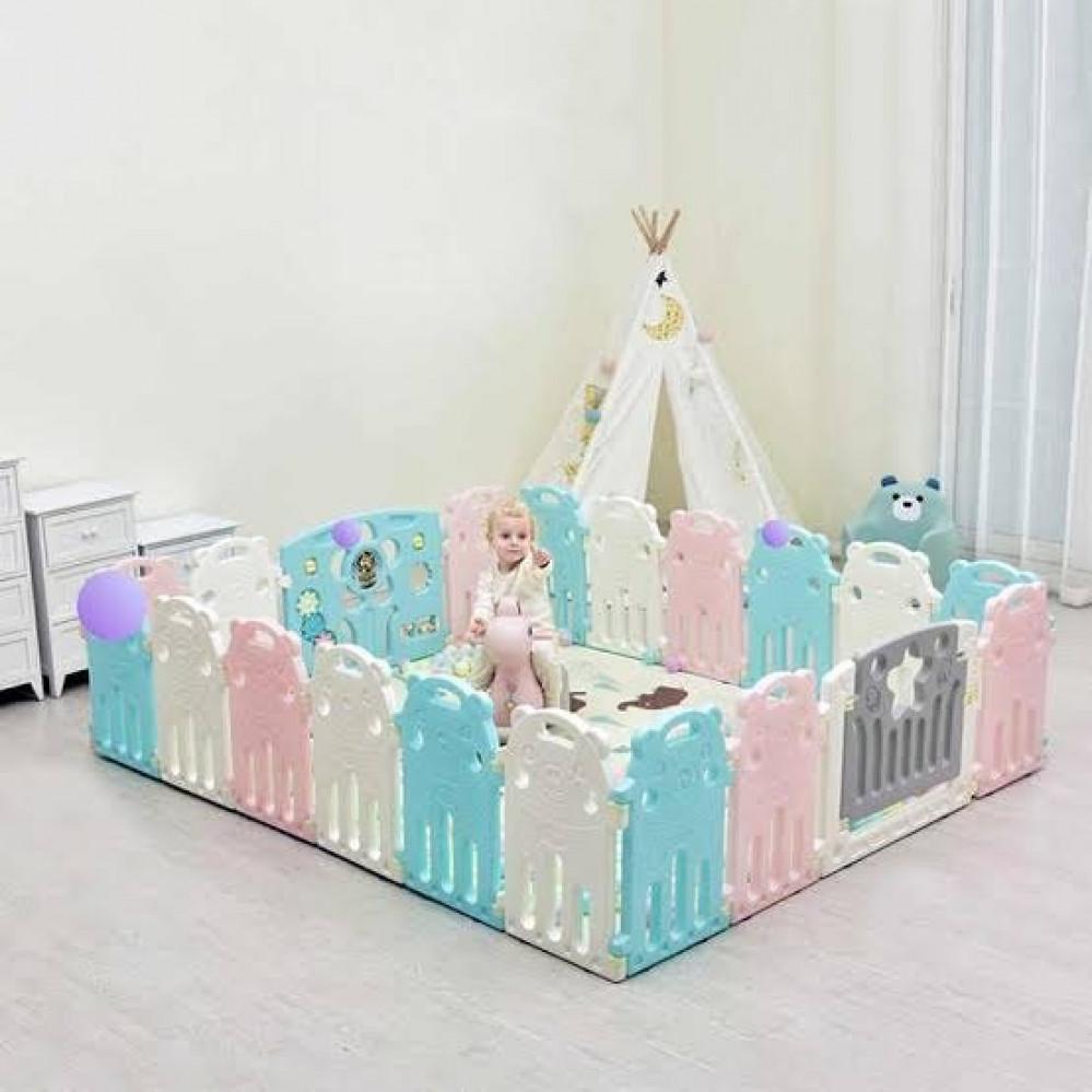 حاجر الاطفال سياج سرير لحماية الطفل سياج الالعاب للاطفال