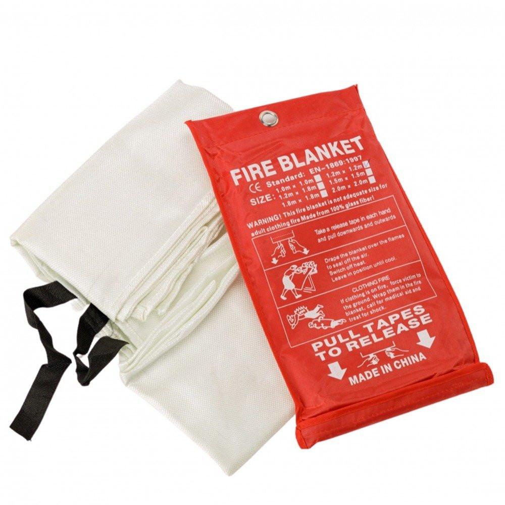 بطانية اضفاء الحريق أحد مكونات صندوق أدوات السلامة المنزلية
