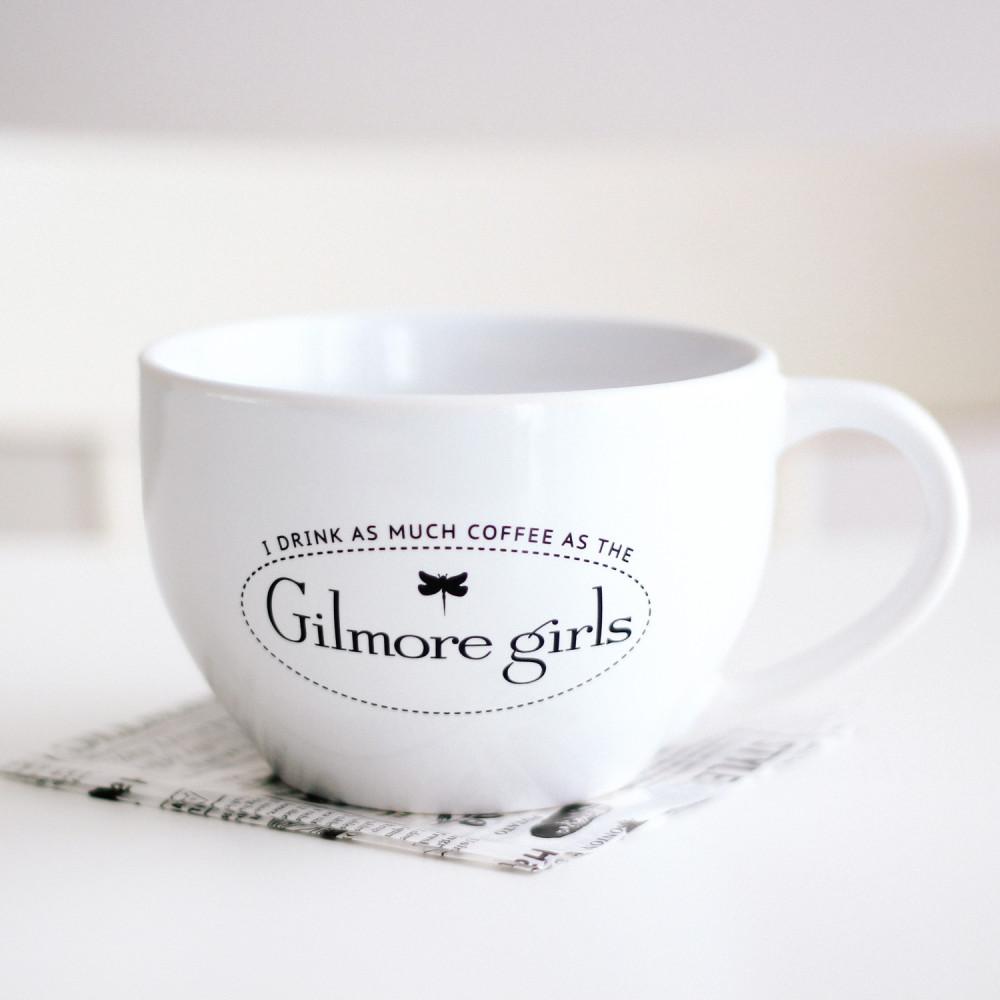 كوب خزف Big Mouth Mug لعشاق مسلسل قيلمور قيرلز  Gilmore Girls