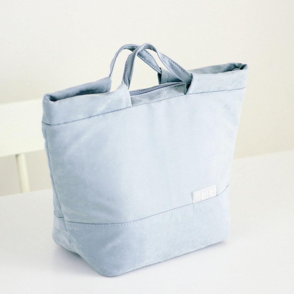 حقيبة لانش بوكس حقيبة صندوق غداء حقائب غداء للدوام حقائب مخمل سماوي