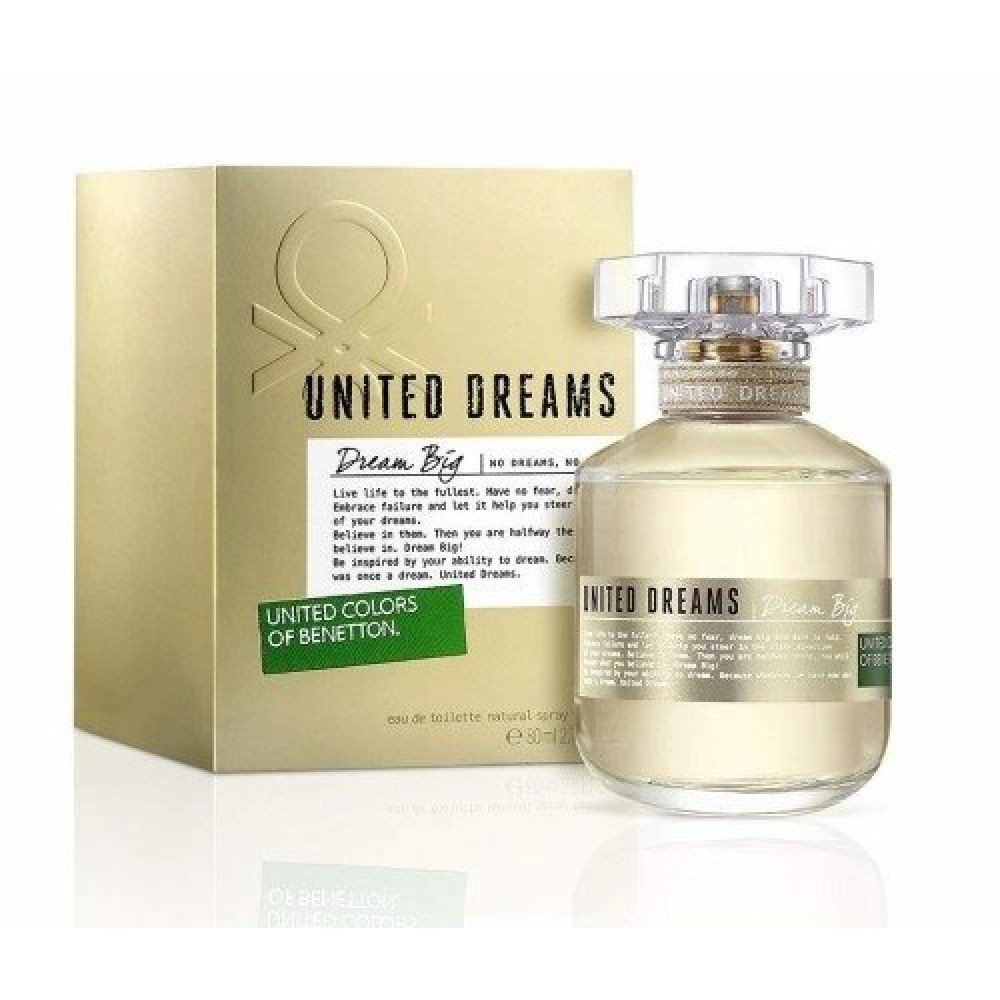 Benetton Colors de Benetton Dream Big for Women Eau de Toilette 80ml خ