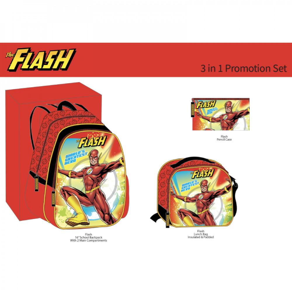 طقم شنطة ظهر, The Flash, Backpack