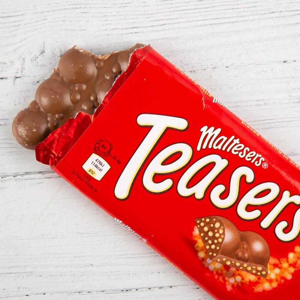 لوح شكولاتة مالتيزرس تيسريس منتج جديد وحصري بريطاني 146 جم Candypark
