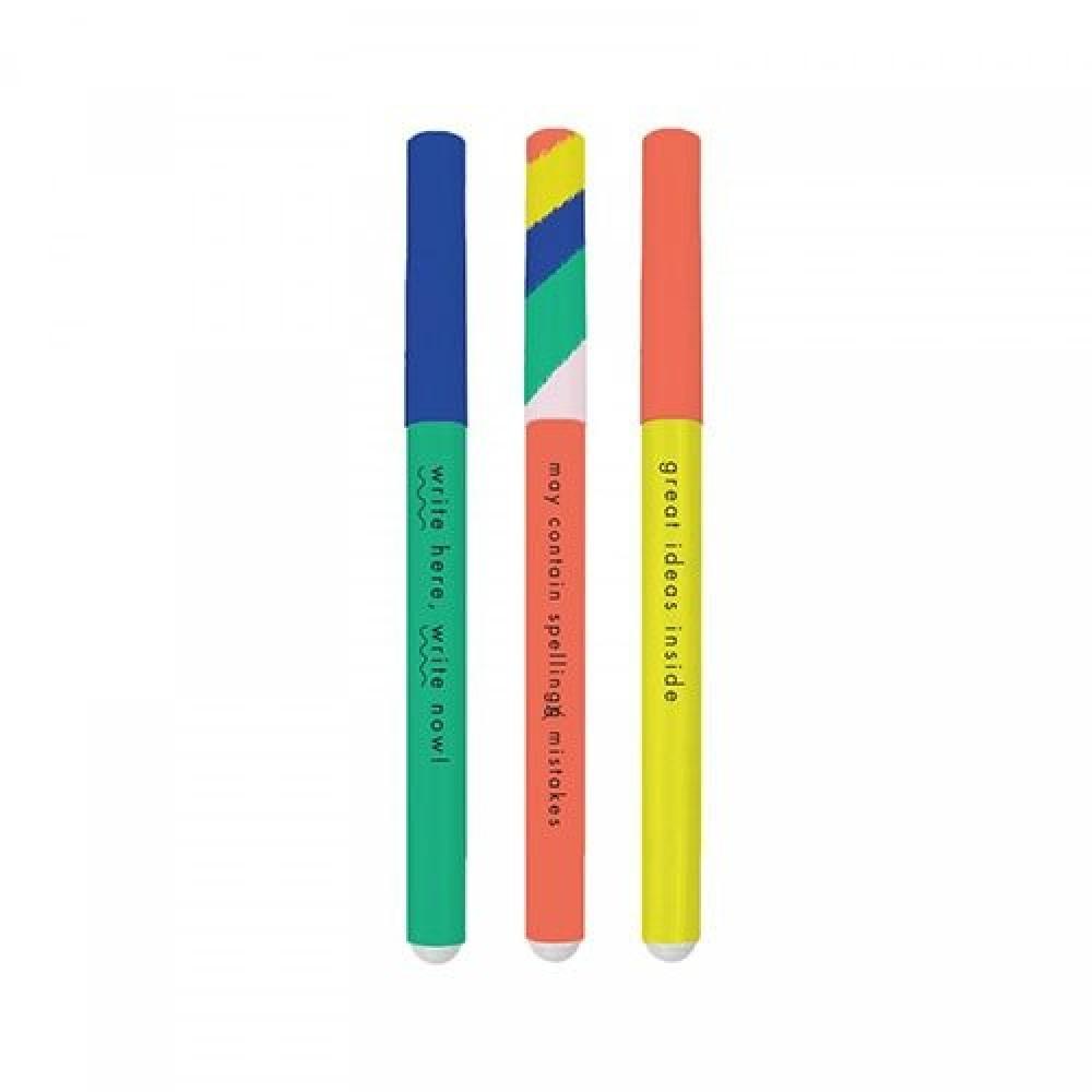 مجموعة أقلام ملونة للكتابة