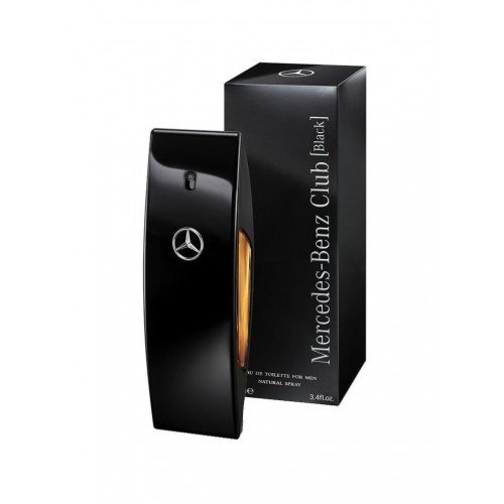 Mercedes Benz Club Black Eau de Toilette 100ml خبير العطور