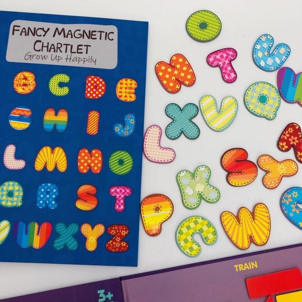 لعبة تركيب الحروف الانجليزية مغناطيس