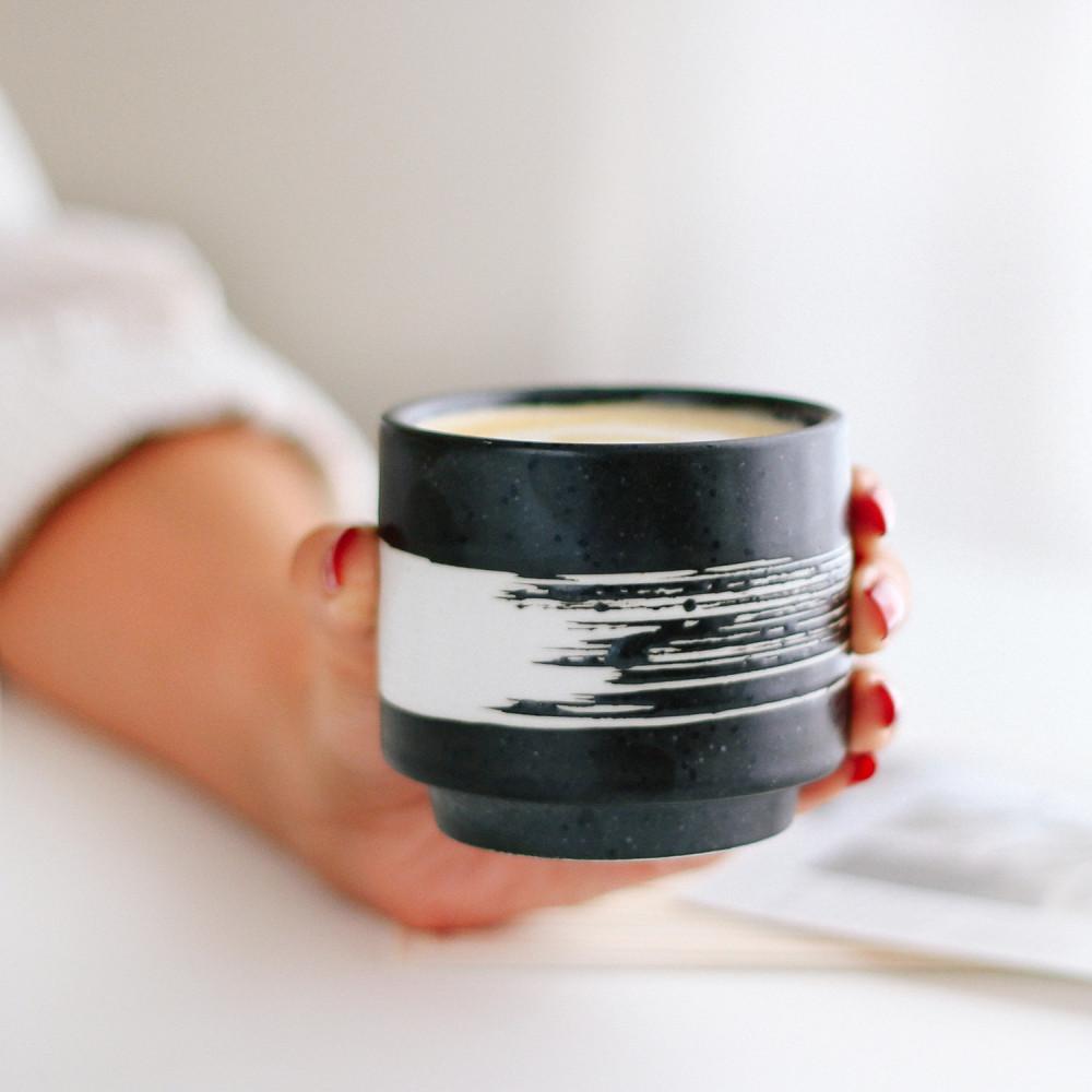كوب قهوة حجري كوب لاتيه كوب هدية كوب كورتادو كوب اسبريسو كوب شاي