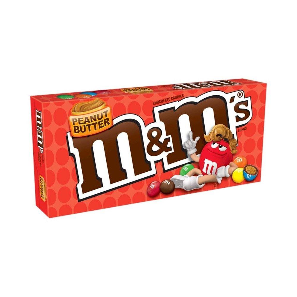 ام اند امز شوكولاته بزبدة الفول السوداني من امريكا 85 1ج كاندي ستور Candy Store