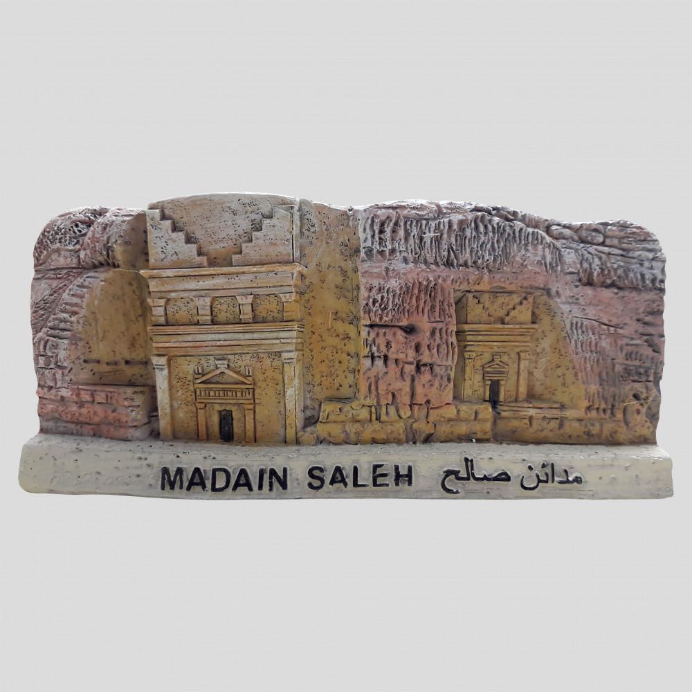مجسم قصر الفريد من معالم مدائن صالح الأثرية