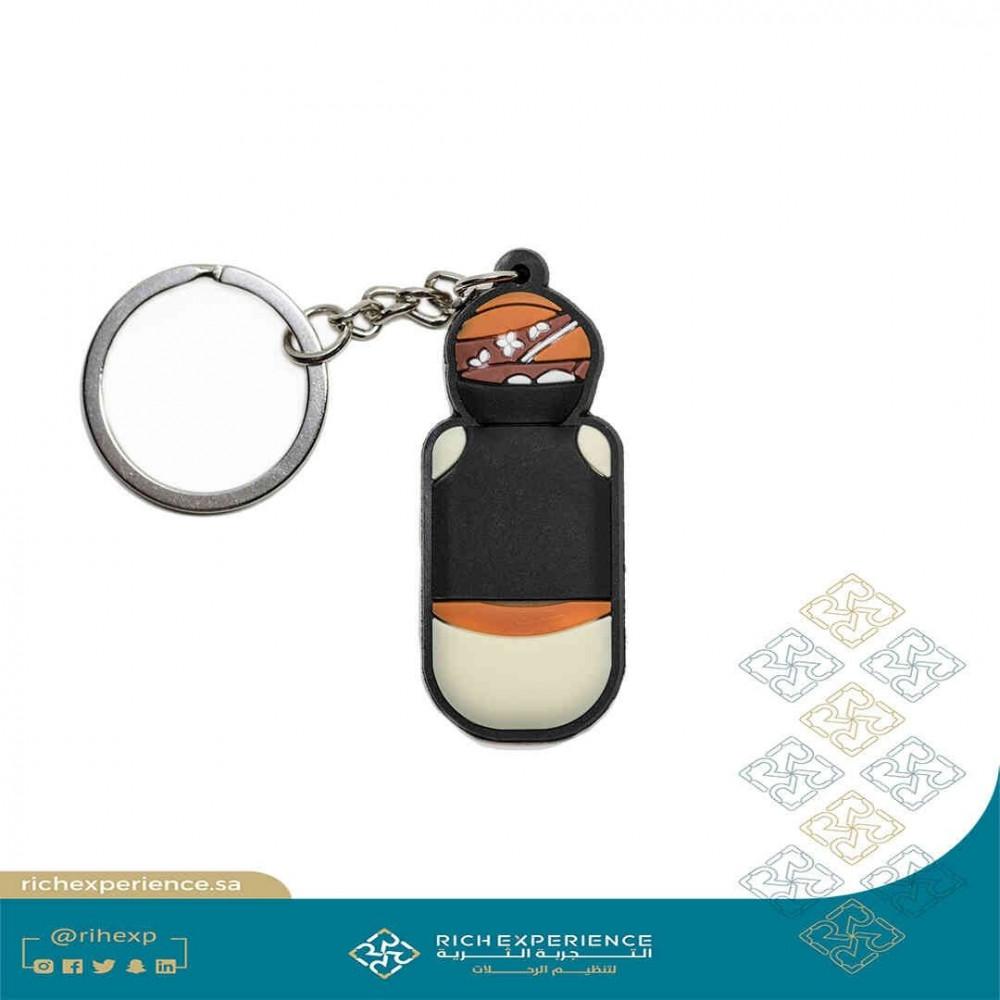 Omdah PVC Keychain 2F