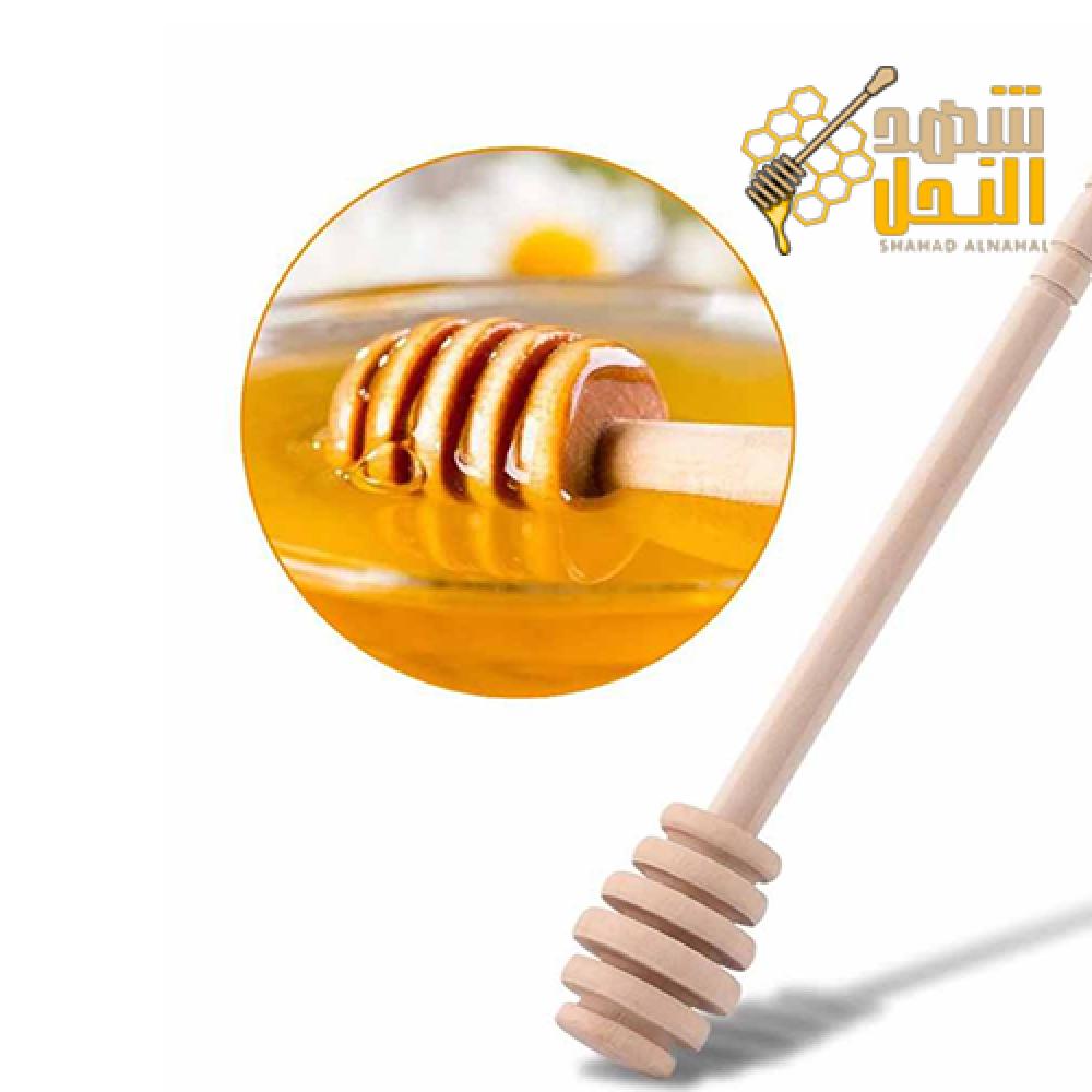 ملاعق عسل خشبية