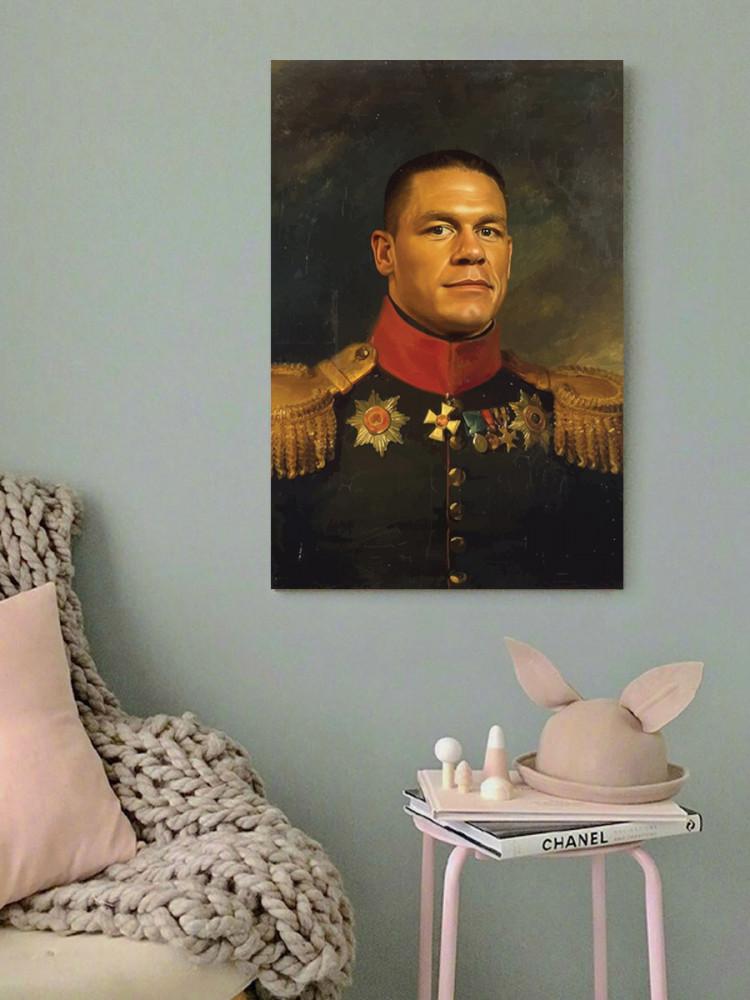 لوحة المصارع جون سينا خشب ام دي اف مقاس 40x60 سنتيمتر