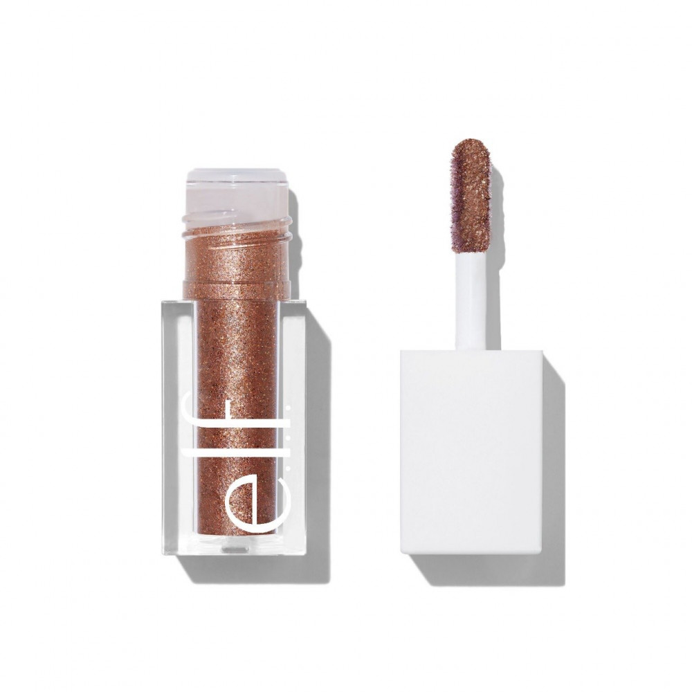 قليتر من الف elf liquid glitter eyeshadow copper pop