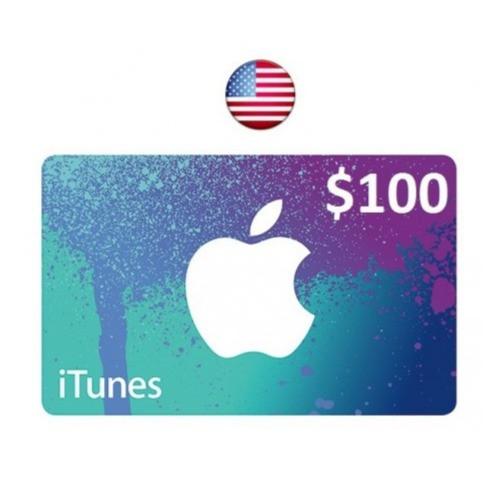ايتونز امريكي 100 دولار