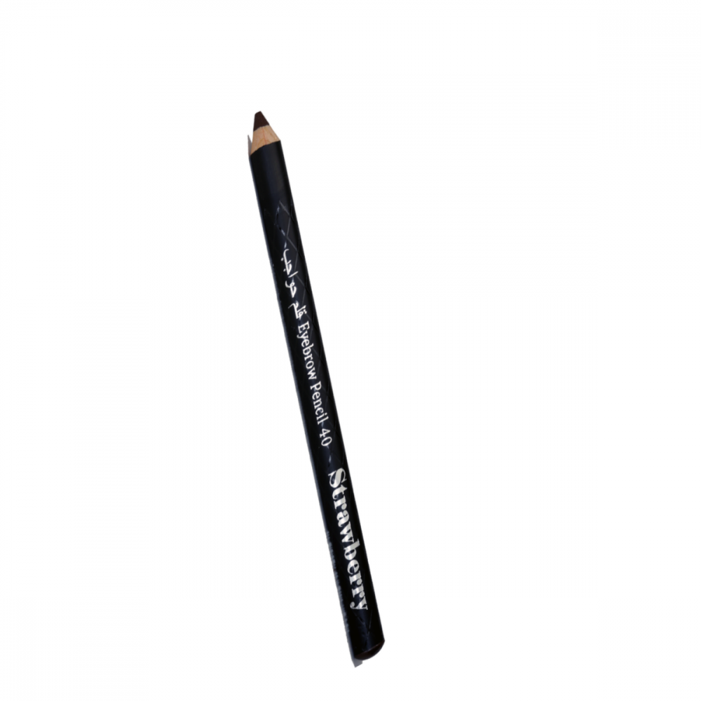 Strawberry Eyebrow Pencil with one side brush No40