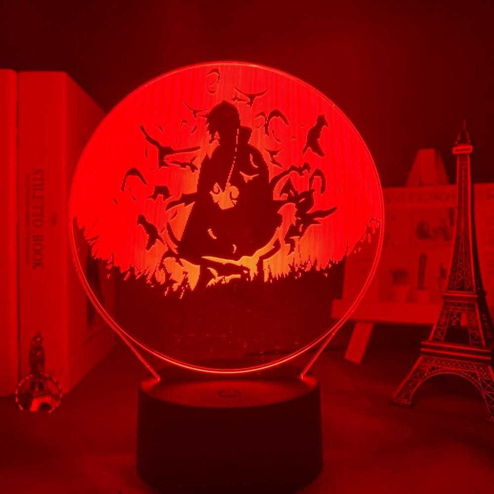انمي ناروتو مصباح مضيء متعدد الالوان يصلح للزينة للمكاتب