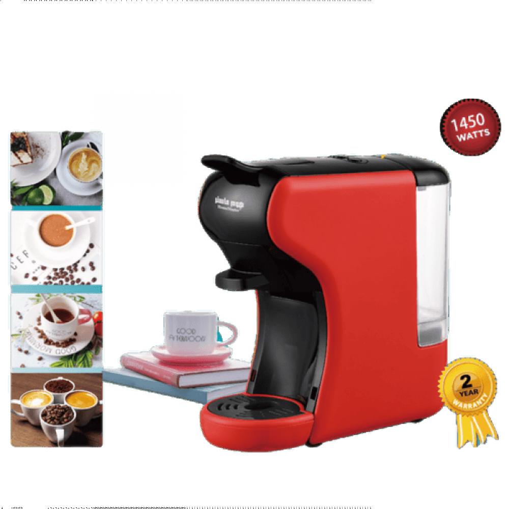 الة قهوة هوم ماستر - ماكينة صنع القهوة بكبسولات من هوم ماستر HM-909