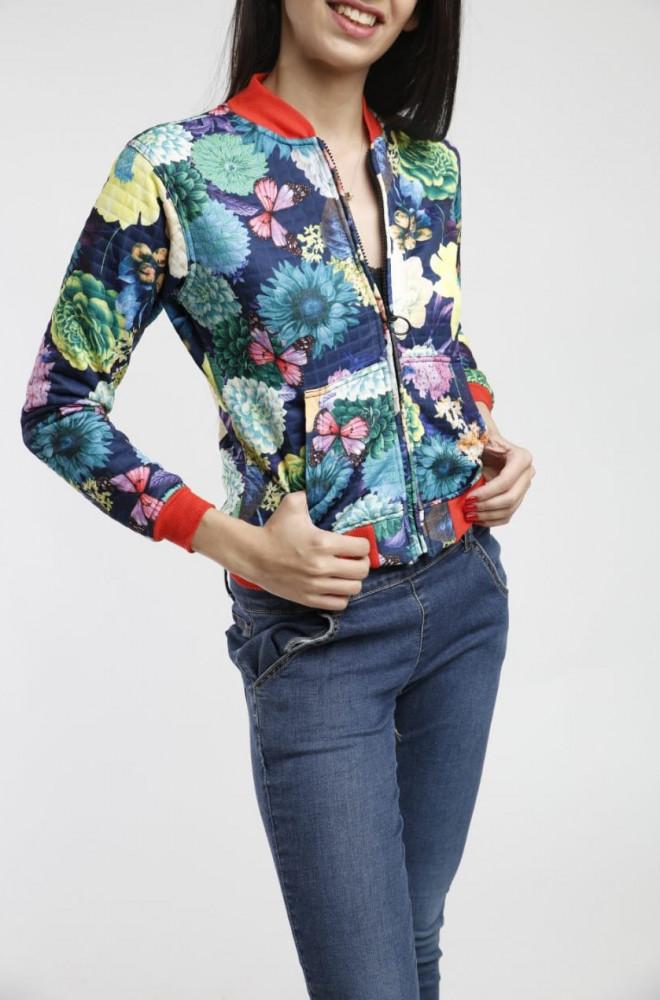 جاكيت مشجر بياقة حمراء من سيدرا مول ملابس نسائية 2020