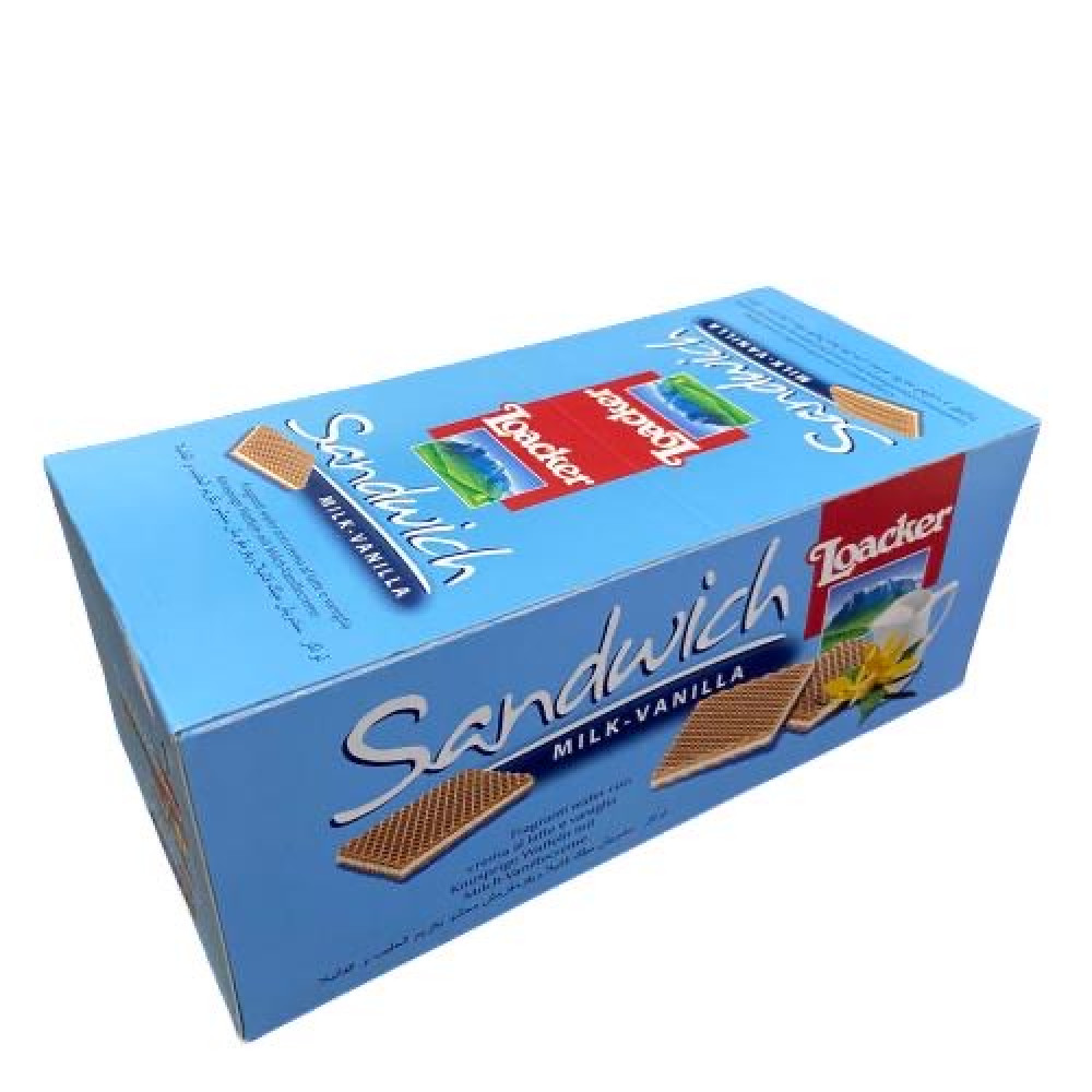 ويفر لواكر بكريمة الحليب والفانيلا ازرق 25 قطعة متجر أنواع الحلويات Candy Kinds تجدون كل ما ببالكم من حلويات وشوكولاته