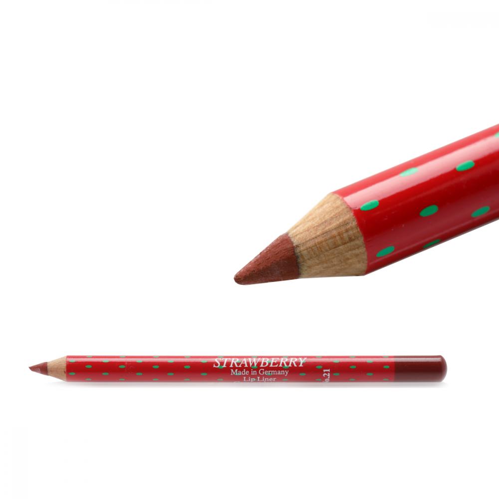 Strawberry  Lip Liner Pencil No-21