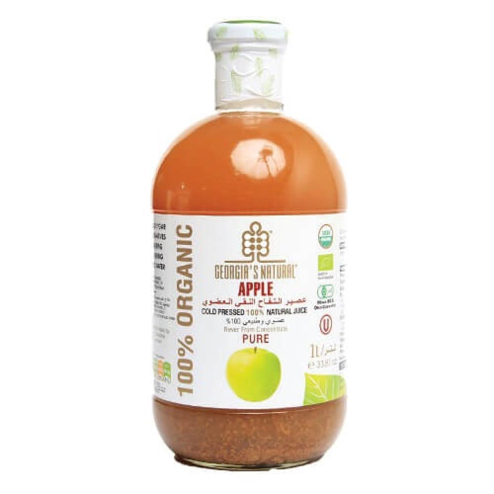 عصير التفاح العضوي النقي 1 لتر