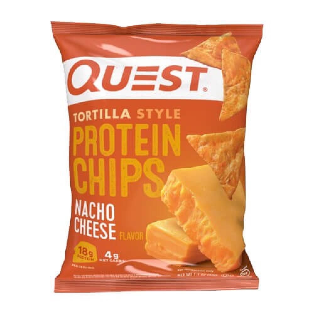 شيبس رقائق بروتين بنكهة جبنة الناتشو 32 جرام