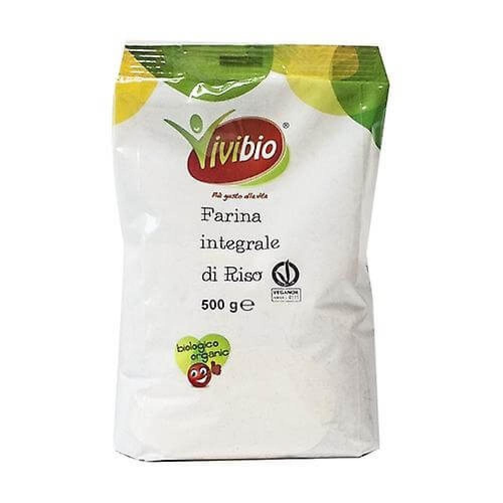 طحين الأرز العضوي البني العضوي 500 جرام