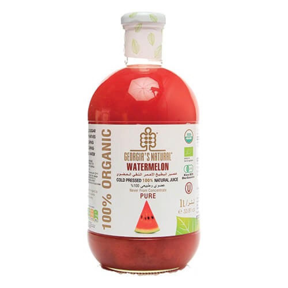 عصير البطيخ الأحمر العضوي النقي 1 لتر