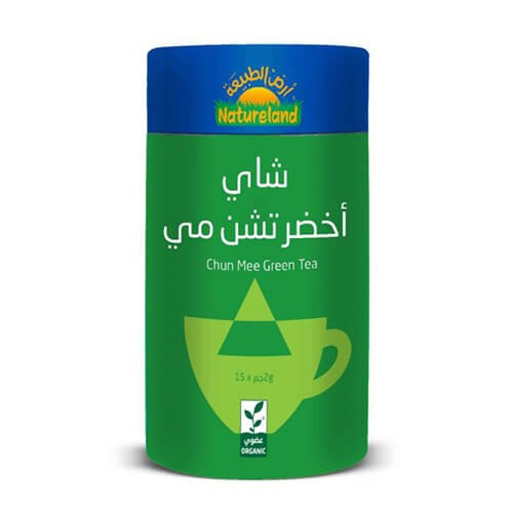 شاي أخضر تشن مي عضوي 30 جرام