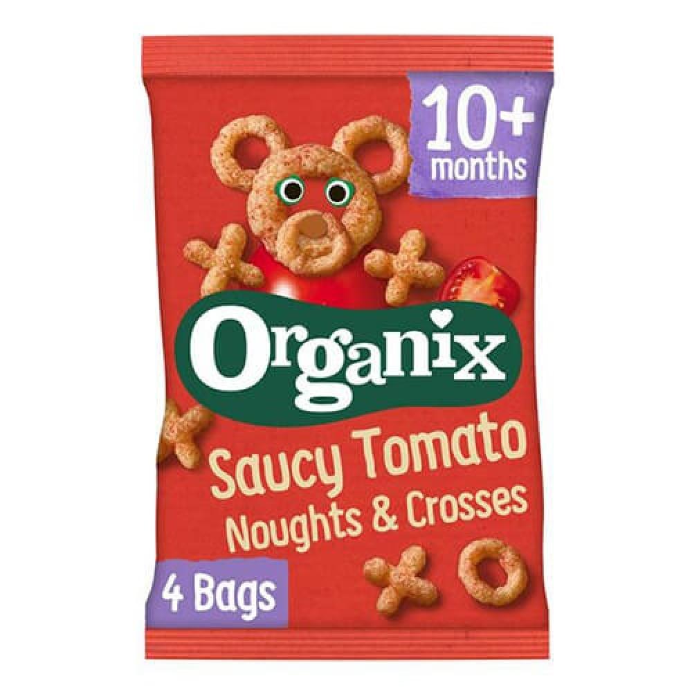 نفائش الذرة بنكهة الطماطم عضوي 60 جرام