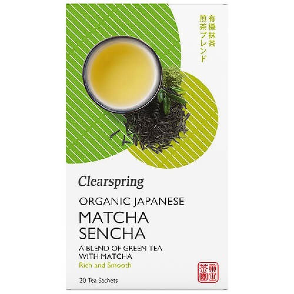 شاي ماتشا سينشا اليابانية عضوي 20 كيس