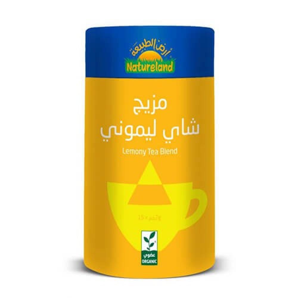 مزيج شاي ليموني عضوي 30 جرام