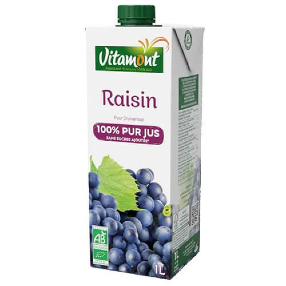 عصير عنب عضوي 1 لتر