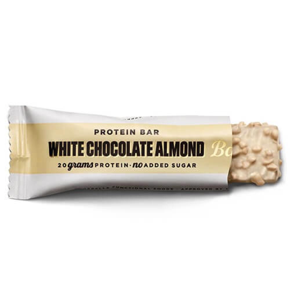 بروتين بار الشوكلاته البيضاء واللوز 55 جرام