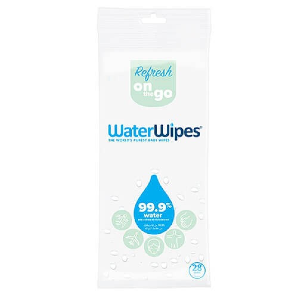 مناديل صحية منعشة من الماء 28 منديل