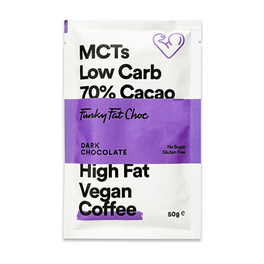 كيتو شوكولاتة داكنة 70 مع قهوة عضوي 50 جرام