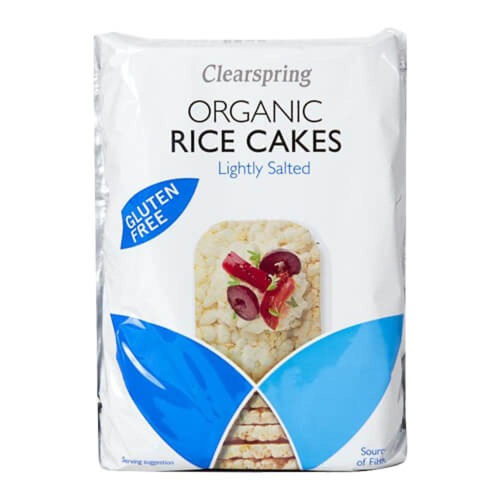 كلير اسبرنج كعك الارز قليل الملح عضوي 130 جرام