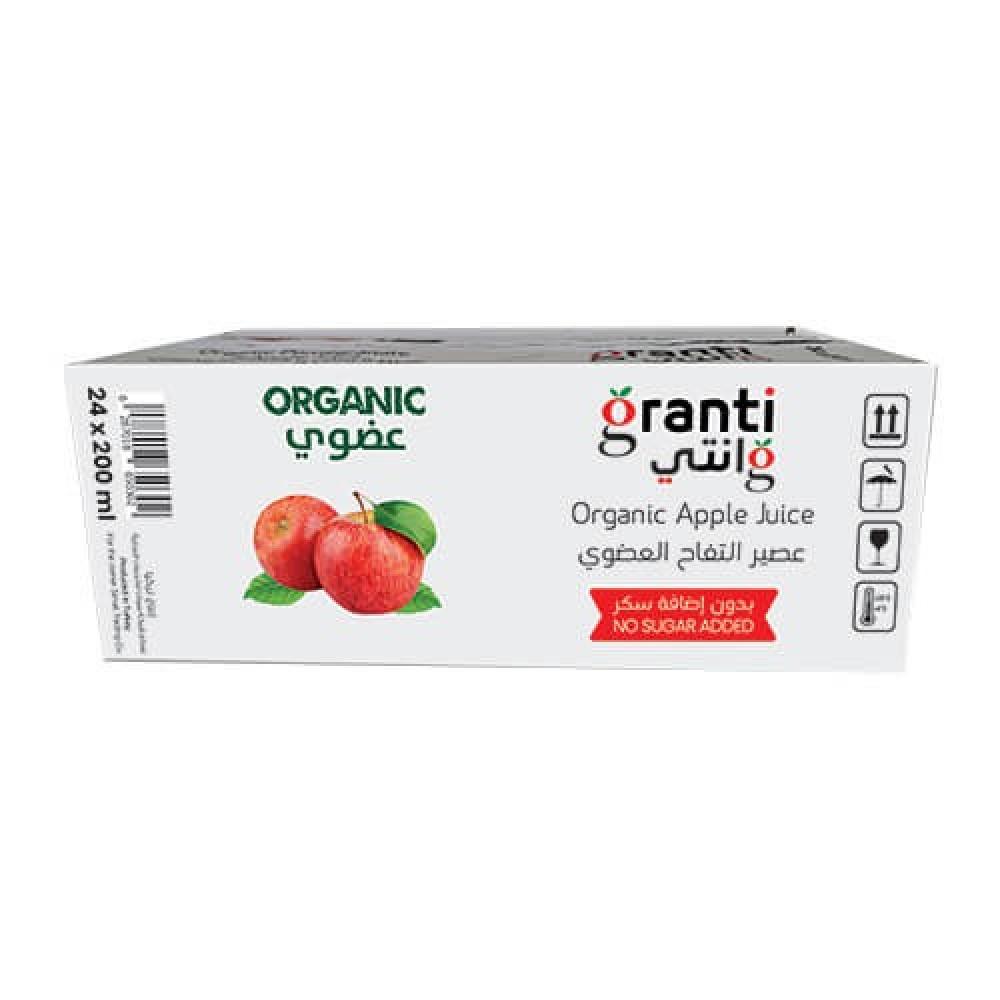 قرانتي عصير تفاح عضوي 24 حبه
