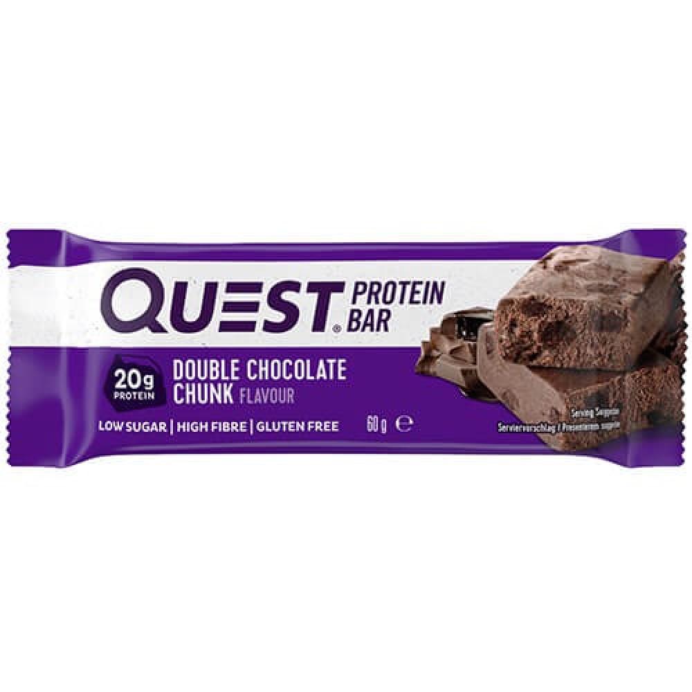 بروتين بار بالشوكلاته المضاعفة 60 جرام