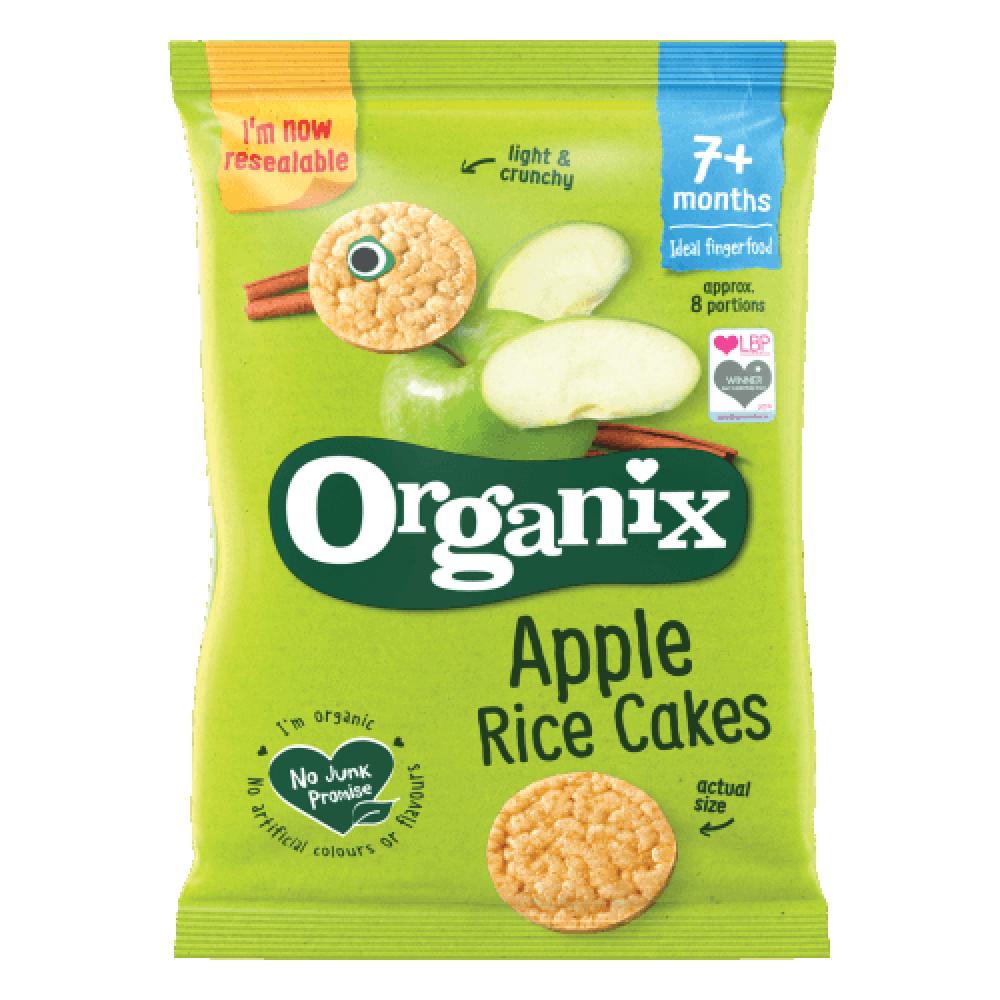 كعك الأرز بالتفاح عضوي 50 جرام